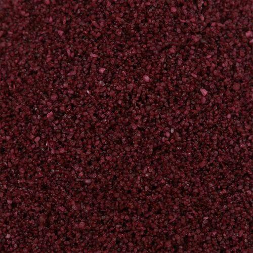 Colore sabbia 0,5mm bordeaux 2kg