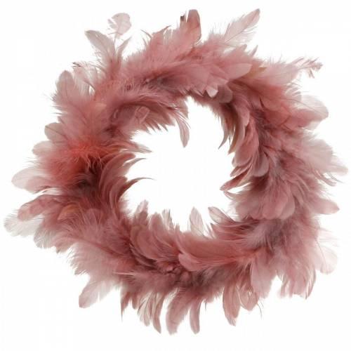 Decorazione di Pasqua ghirlanda primaverile rosa antica Ø18cm decorazione primaverile