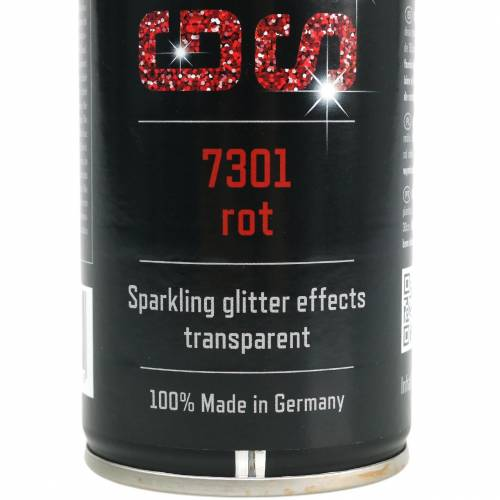 Glitter spray rosso 400ml