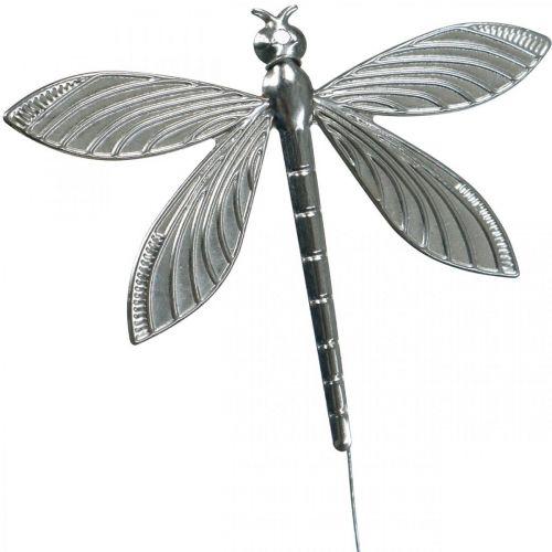 Decorazione primaverile, decorazione spina libellula, decorazione matrimonio, estate, libellula in metallo 12 pezzi