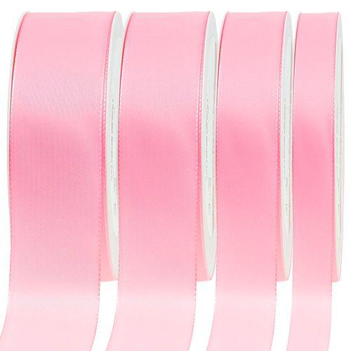 Nastro regalo e decorazione 50m rosa chiaro