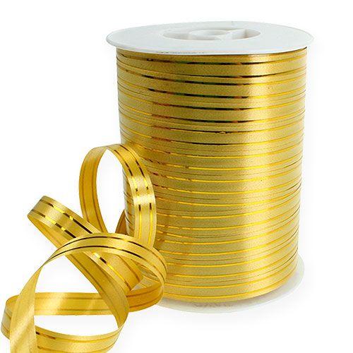 Splittband 2 strisce dorate su oro 10mm 250m