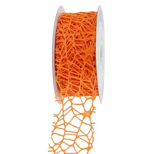 Nastro a rete arancione 40mm 10m