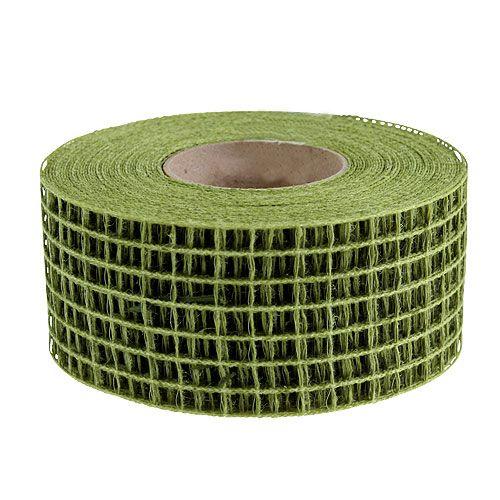 Nastro a rete 4,5 cm x 10 m verde muschio