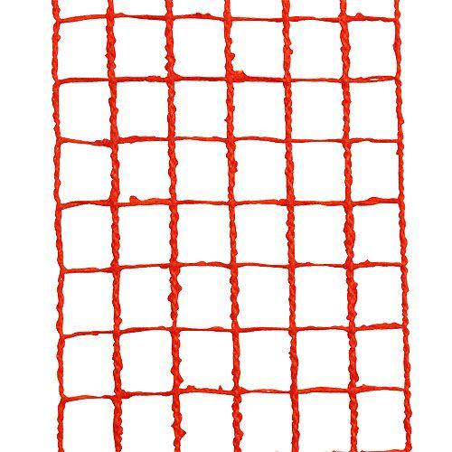 Nastro grigliato 4,5 cm x 10 m arancione