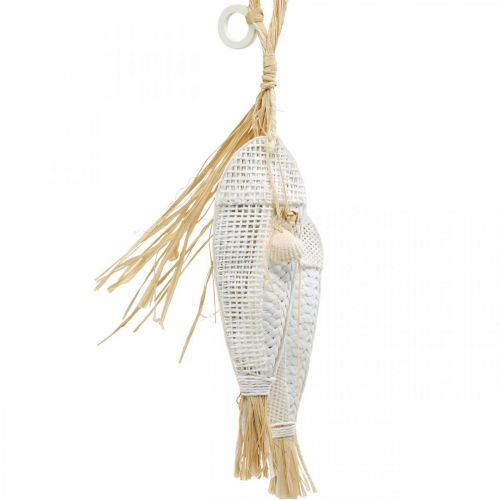 Pesce da appendere, marittimo, appendini con pesci, decorazioni per feste tropicali