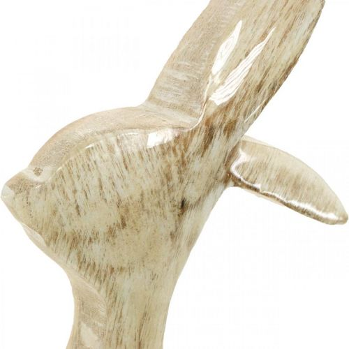 Coniglietto in legno, primavera, decorazione pasquale, coniglietto decorativo H25cm