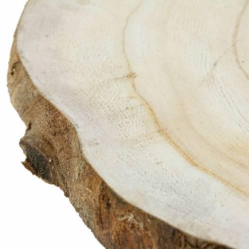 Disco in legno naturale Ø25-32cm