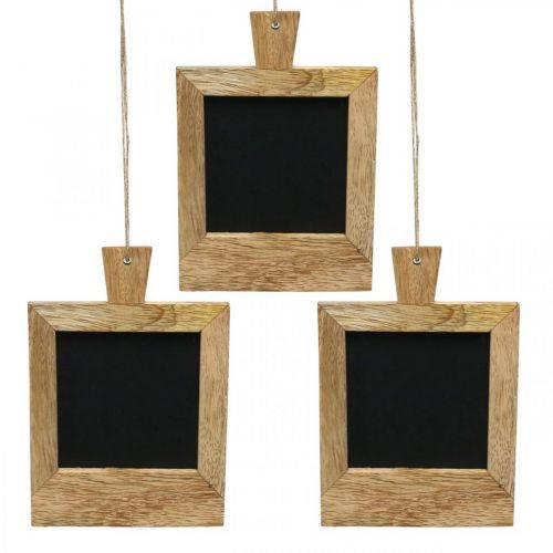 Mini pannello decorativo da appendere natura 9 × 13 cm 3 pezzi