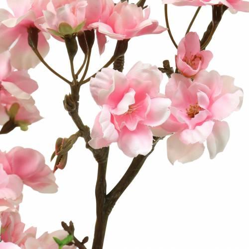 Ramo di fiori di ciliegio rosa 105 cm