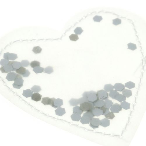 Confetti cuore 5cm 24 pezzi
