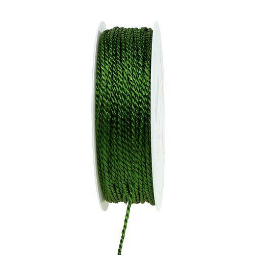 Cord verde muschio 2mm 50m