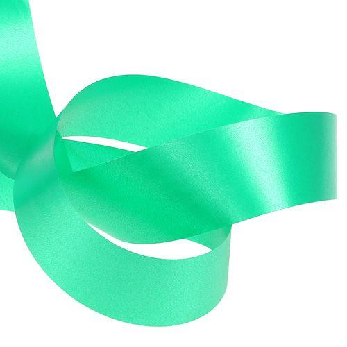 Nastro arricciacapelli 40mm 100m verde