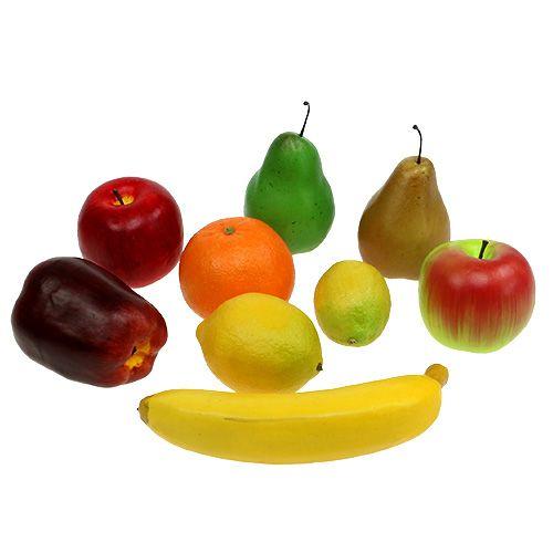 I frutti si mescolano nella rete