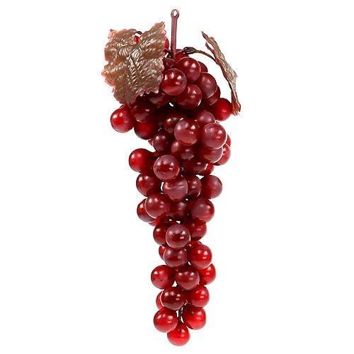 Uva da frutto artificiale rossa 22 cm