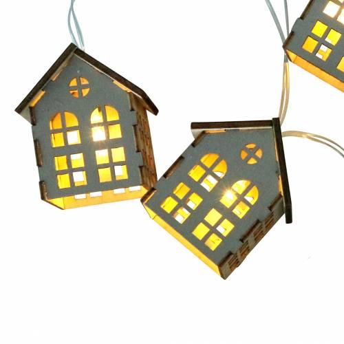 Case di luci fiabesche a LED alimentate a batteria