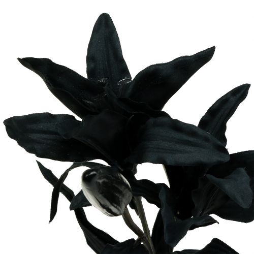 Fiore artificiale Lily Black 84cm