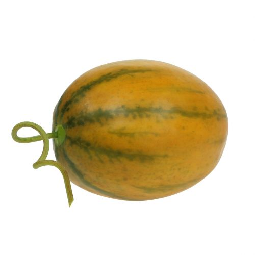 Melone giallo artificiale Ø10cm 13cm