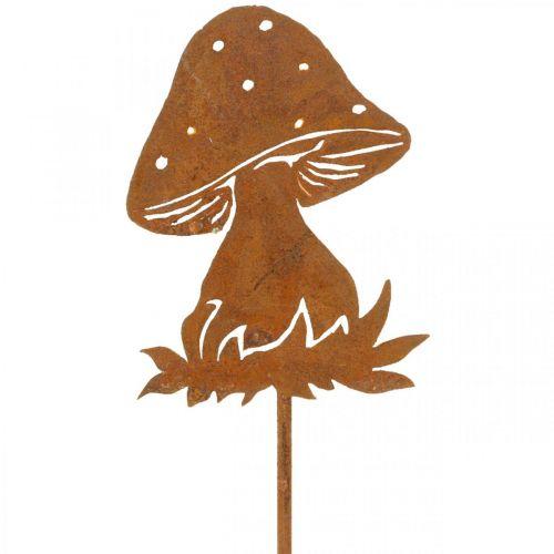 Spina da giardino fungo ruggine agarico autunnale decorazione giardino 47 cm