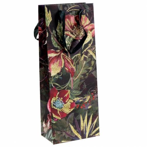 Sacchetto regalo per fiori in bottiglia 8,5 cm x 14 cm H36 cm