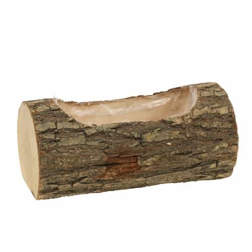 Fioriera in legno di olmo 20 cm x 11 cm H9 cm