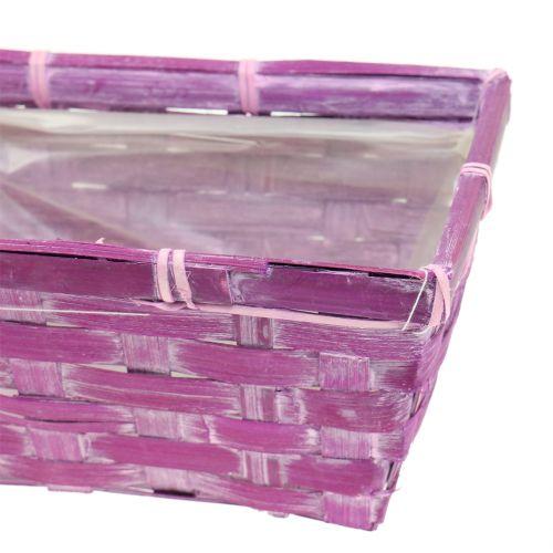 Spanking Square Viola / Bianco / Rosa 8 pezzi