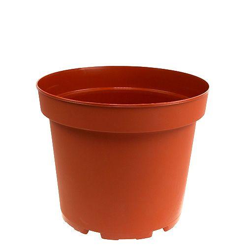 Vaso per piante in plastica Ø17cm 10 pezzi