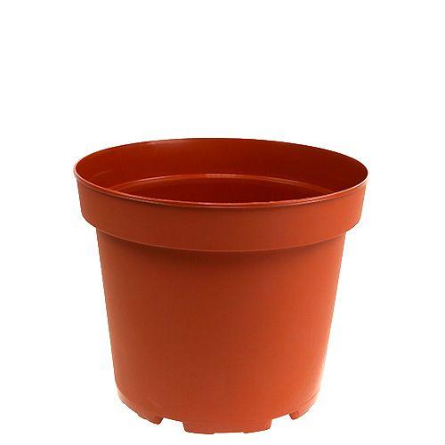 Vaso per piante in plastica vaso interno Ø15cm 10 pezzi