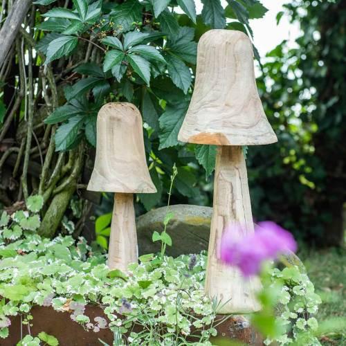 Legno di pino fungo Ø18cm H35cm