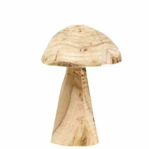 Fungo Paulownia legno Ø16cm H18cm