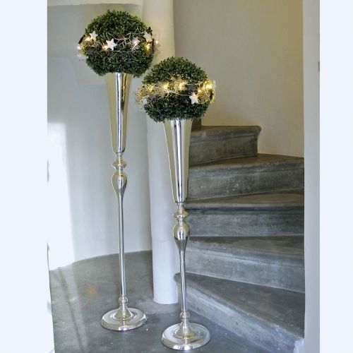 Vaso Coppa argento Ø15cm H75cm