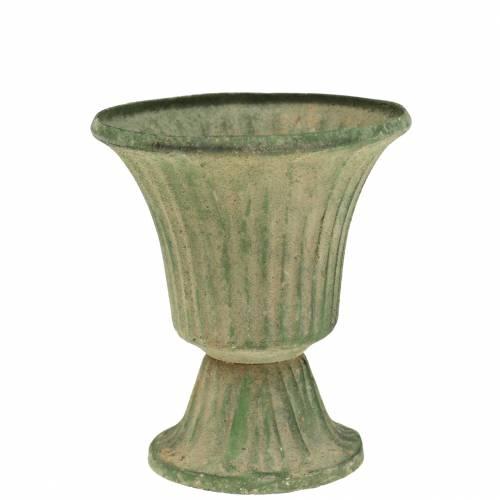 Calice Coppa Verde Antico Ø9cm H10cm