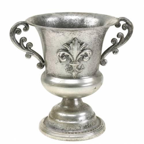 Ciotola tazza argento antico Ø20cm H24cm