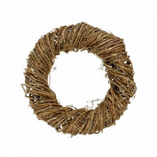 Corona di vite Ø30cm naturale