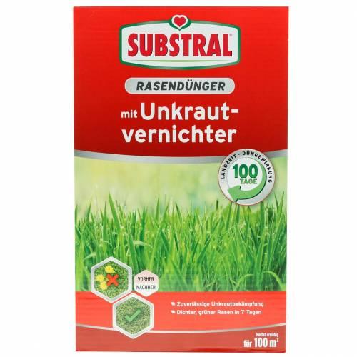 Fertilizzante substrato per prato con diserbante 2kg