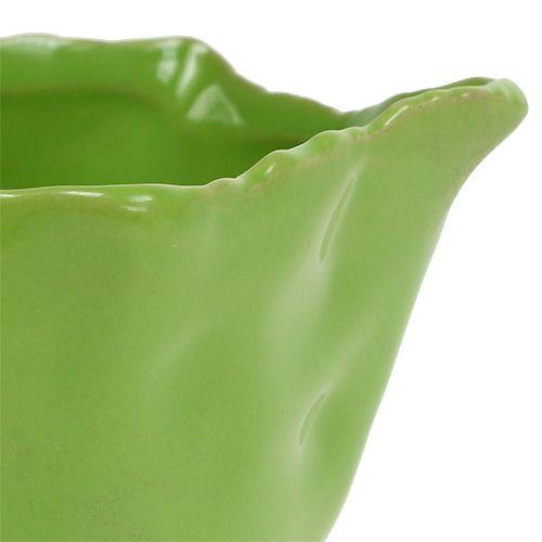 Ciotola in ceramica in verde Ø13cm H6cm