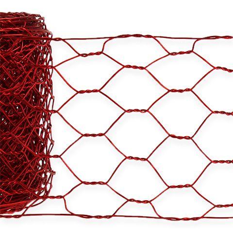 Treccia esagonale 50mm 5m rossa