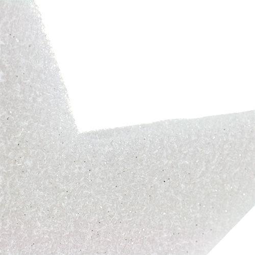 Stella da sospendere Bianco 37cm L48cm 1pc