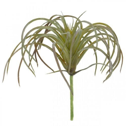 Tillandsia artificiale da attaccare Pianta artificiale verde-viola 13cm
