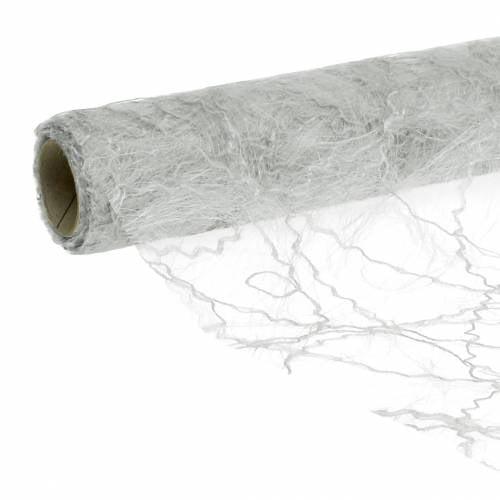 Runner da tavolo argento 30 cm 25 m