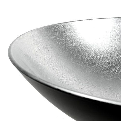Ciotola da tavolo in plastica argento Ø28cm