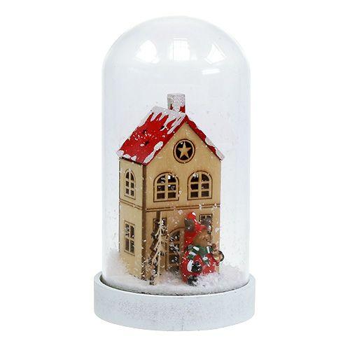 Decorazioni natalizie casa con campana Ø9cm H16,5cm