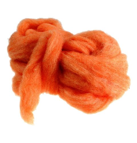 Rivetto in lana 10m arancione