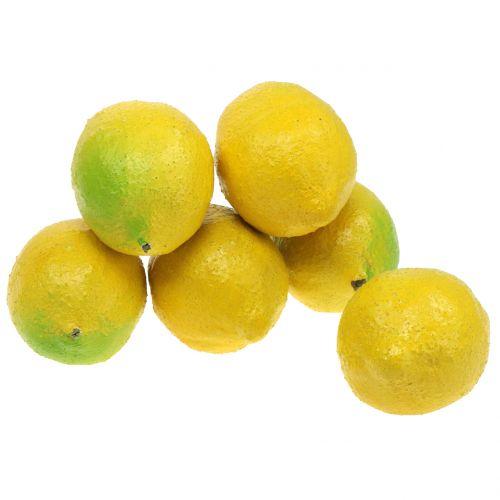 Limoni Deco 10 cm 6 pezzi