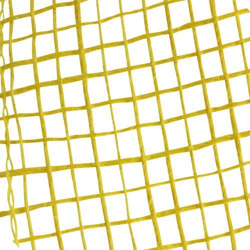 Nastro di iuta giallo 5 cm 40 m