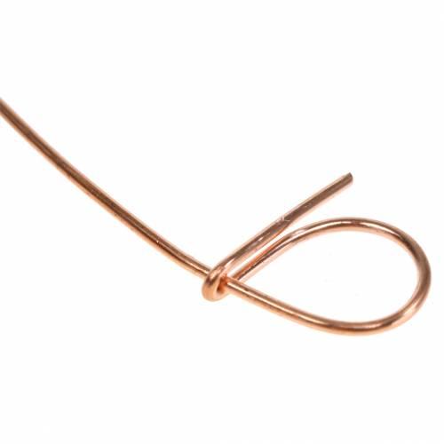 Filo per rilegatura con occhielli rame 1 mm x 120 mm 100 pezzi