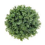 Palla di bosso verde artificiale Ø18cm