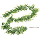 Ghirlanda di eucalipti verde 150 cm