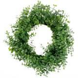Ghirlanda di eucalipto verde Ø36cm