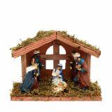 Natività di Natale 20 cm x 9 cm x 14 cm